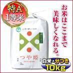 29年産つや姫 当日精米 一等米 山形県庄内産 白米10kg  (5kg×2袋) 分づき可能 特別栽培米)送料無料