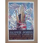 215 Jasper Johns ジャスパー・ジョーンズ ポスター Savalan 現代アート