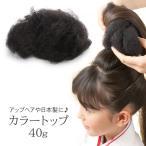 髪飾り ヘアセット  カラートップ ヘアートップ 毛たぼ すき毛 自然色 中国製 ヘアアクセサリー ネコポス便可