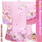 ショッピング着物 七五三 着物 7歳 購入女の子正絹の子供振袖「ピンク、鞠に桜」DHT256