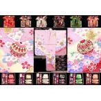 七五三 着物 7歳 子供着物 フルセット(正絹) ピンク、鞠に桜 DHT256set
