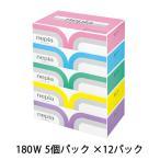 送料無料ネピア プレミアムソフトティッシュペーパー180組 5箱×12パック まとめ買い 00191