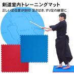 剣道室内トレーニンググッズ 足さばきトレーニングマット 剣道 自主練 稽古に