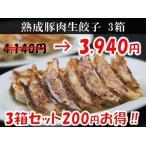 マルシン熟成豚肉生餃子 3箱セット