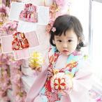 ベビー 着物 初節句 1歳 被布セット 女の子 雛祭り ひなまつり お食い初め 百日祝い お正月 誕生日 出産祝い プレゼント 送料無料