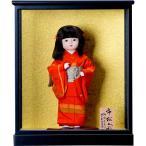 雛人形 市松人形 ケ-ス付 8号少女 女の子 錦織京子作