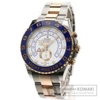 ロレックス  116681 ヨットマスター2 腕時計 ステンレス SSxK18PG メンズ  中古