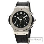 HUBLOT ウブロ 301.SX.1170.RX ビッグバン 腕時計 ステンレススチール/アリゲーターラバー メンズ  中古