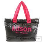 kitson キットソン ロゴマーク トートバッグナイロン素材 レディース 中古