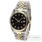 ROLEX ロレックス 16233G デイトジャスト 10Pダイヤモンド 腕時計 ステンレス/SSxK18YG メンズ  中古