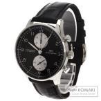 IWC インターナショナルウォッチカンパニー IW3714 ポルトギーゼ 腕時計 K18ホワイトゴールド/アリゲーター メンズ  中古