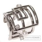 MIKIMOTO ミキモト パール/ダイヤモンド リング・指輪 K18ホワイトゴールド レディース 中古
