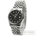 ROLEX ロレックス16234G デイトジャスト 10Pダイヤモンド 腕時計 ステンレス メンズ  中古