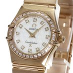 OMEGA オメガ 1158.75 コンステレーション 腕時計 K18ピンクゴールド/ダイヤモンド レディース  中古