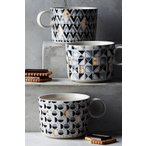 ANTHROPOLOGIE アンソロポロジー イニシャルマグカップ Optimist Monogram Mug