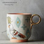 ANTHROPOLOGIE アンソロポロジー マグカップ Plumology Mug TURQUOISE
