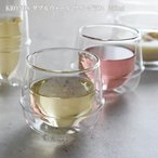 キントー ダブルウォール ワイングラス 250ml KINTO KRONOS クロノス