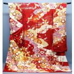 ショッピング振袖 新春セール 特選品 刺繍・友禅染振袖 f-908 古典柄正絹振袖