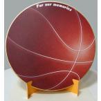 シノコマ スポーツ色紙(封筒・紙製スタンド付き)バスケットボール(リアル) 部活色紙