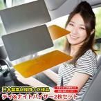 【2個セット】Day&Night サンバイザー 正規品 特許番号取得 日差しの悩みを軽減 バイザー 日本語説明書 パーフェクトビュー より大きいサイズ