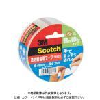 スリーエム スコッチ透明梱包テープ手でまっすぐ切れる 3852K
