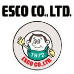 エスコ ESCO EA589AT-65 100x18x0.5mm カッターナイフ替刃(2倍折線/10枚)
