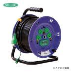 (お買い得)日動工業 100V 一般型ドラム 30m アース付 漏電保護付 NP-EB34 (冬の特価祭)