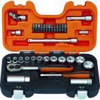 バーコ インチソケットセット 1/4 3/8 差込角6.35mm 9.5mm S330AF