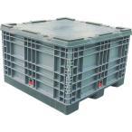 運賃見積り 直送品 リス パレットボックスBJ-S・1111X70S分解収納型 グレー BJ-S・1111X70S