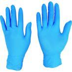 テイジン ソフトニトリル手袋 ブルー LL NBR-PF8BLL