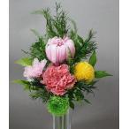 プリザーブドフラワー *仏花 輪菊パルフェ入り(花器なし)