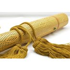 【矢筒房 人絹(レーヨン) 金茶】 弓道 和弓 矢収納弓具  【メール便可】