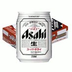 アサヒ スーパードライ250ml缶1ケース(24本入)