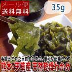 熊本県・天草産 天然乾燥わかめ 35g メール便送料無料