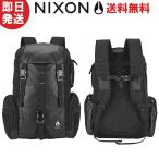 NIXON ニクソン リュック WATERLOCK III BACKPACK NC28121148-00 ALL BLACK NYLON ブラック 日本正規品