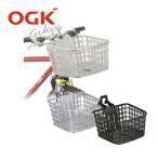 OGK技研 MTB・クロスバイク用バスケット FB-022X 自転車 前カゴ まえカゴ マウンテンバイク用 クロスバイク