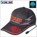 サンライン ツアーキャップVI 6 レッド 赤 CP-3388 ステータス フィッシング 帽子 ウエア(予約品 4月発売予定 2019年春夏 最新 新作モデル)