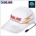 サンライン ツアーキャップVI 6 ホワイト 白 CP-3389 ステータス フィッシング 帽子 ウエア(予約品 4月発売予定 2019年春夏 最新 新作モデル)