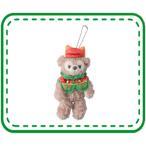 ダッフィークリスマス2015 パークコスチューム シェリーメイぬいぐるみバッジ 661 東京ディズニーシー限定 11/3発売