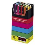 AC-00023605 三菱鉛筆 ユニ ポスカ 細字 15色セットPC-3M15C