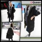 ショッピング大きいサイズ 大きいサイズの服 レディース 中綿ロングコート ロングジャケット 送料無料 黒 LL 3L 4L