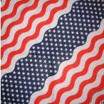 ショッピングバンダナ USA2.フラッグ、デザインバンダナ(新品)