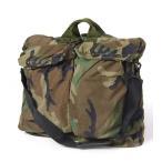 ショッピングused US.軍用、HGU59P.カモヘルメットバッグ(USED)