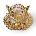 US.ARMY.ROTC.キャップバッジ(新品)ミリタリー