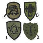 US.ミリタリー、OD.部隊章ワッペン(新品)3
