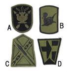 US.ミリタリー、OD.部隊章ワッペン(新品)5