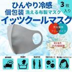 冷感マスク イッツクールマスク 3枚 夏用