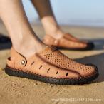 サンダル メンズ ビーチサンダル メンズ 痛くない 夏サンダル 靴 カジュアルシューズ 大きいサイズ かっこいい 歩きやすい 2019夏新作の画像