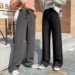 ガウチョパンツ 冬 ワイドパンツ レディース ボトムス パンツ ズボン ロング チノパンツ ゆったり