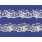 チュールレース(3.3cm巾・8色)
